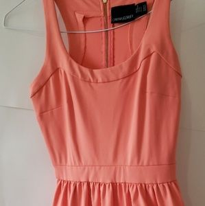 Cynthia Rowley Peach Summer Dress